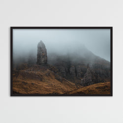 Foggy Old Man of Storr | Photography Print by Northlandscapes