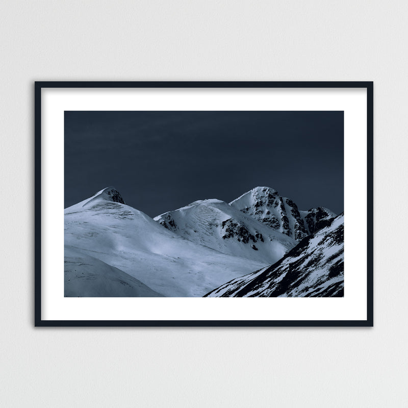 Dark Light over Highlands in Scotland | Framed Photo Print by Jan Erik Waider