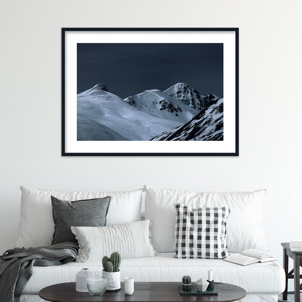 Dark Light over Highlands in Scotland | Wall Art Print by Jan Erik Waider