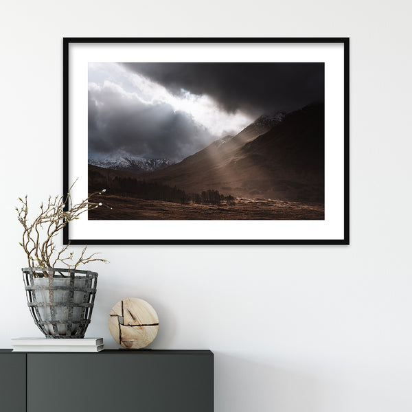 Glen Etive in the Highlands of Scotland | Wall Art Print by Jan Erik Waider