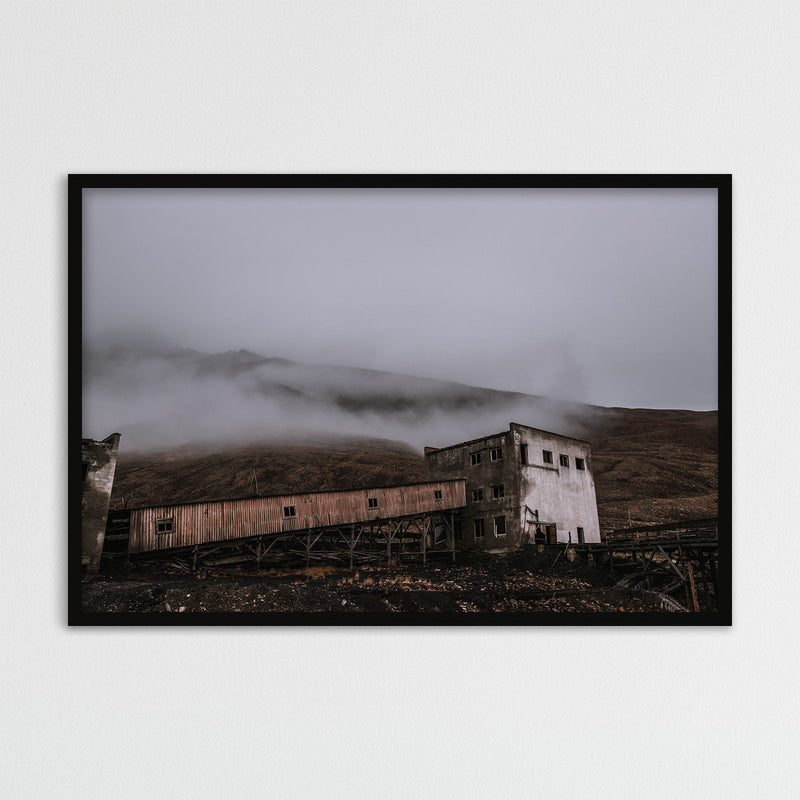 Abandoned Coal Mine of Pyramiden, Svalbard | Photography Print by Northlandscapes