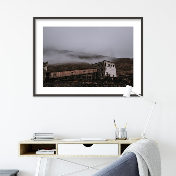 Abandoned Coal Mine of Pyramiden, Svalbard | Wall Art Print by Jan Erik Waider