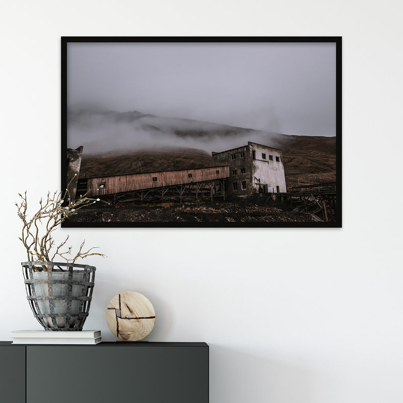 Abandoned Coal Mine of Pyramiden, Svalbard | Fine Art Photography Print by Northlandscapes