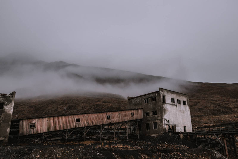 Abandoned Coal Mine of Pyramiden, Svalbard