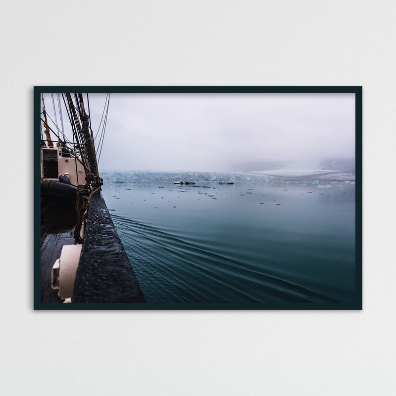 Sailing through Arctic Waters of Svalbard | Photography Print by Northlandscapes
