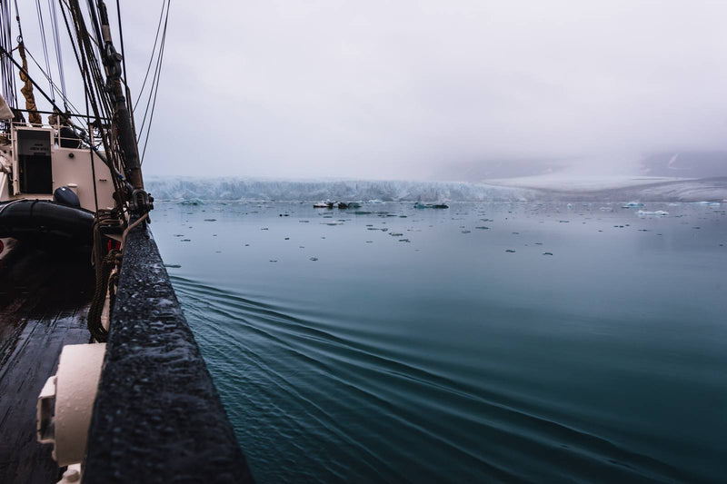 Sailing through Arctic Waters of Svalbard