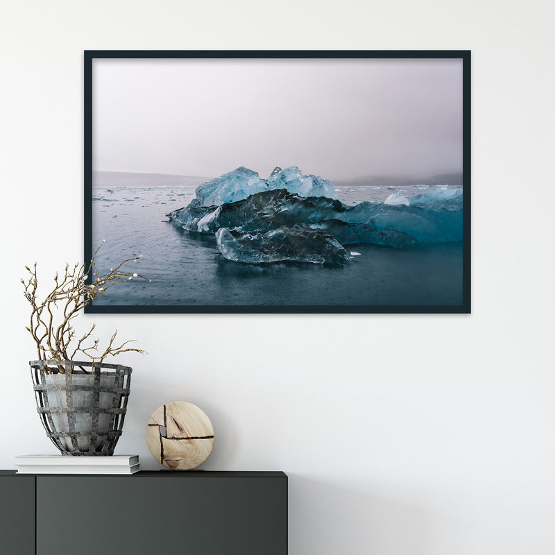 Blue Icebergs in Svalbard | Fine Art Photography Print by Northlandscapes