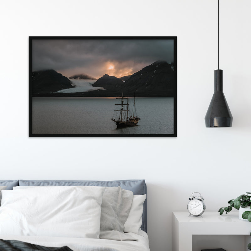 Warm Evening Light over Kongsfjord, Svalbard | Fine Art Photography Print by Northlandscapes