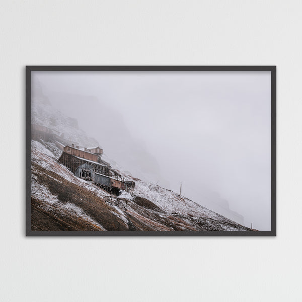 Abandoned coal mine in Longyearbyen, Svalbard | Photography Print by Northlandscapes