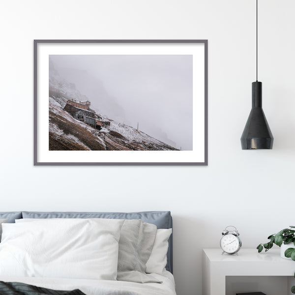 Abandoned coal mine in Longyearbyen, Svalbard | Wall Art Print by Jan Erik Waider