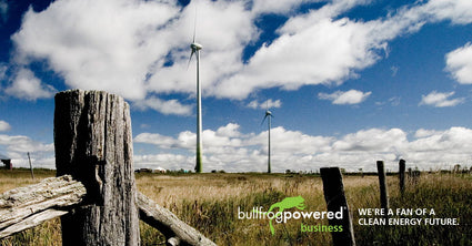 Rootree supports green electricity with Bullfrog Power®