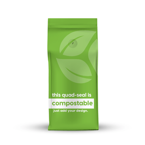 Compostable Quad Seal