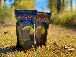Café Las Peñas 100% Costa Rican Fresh Roasted Coffee 340g