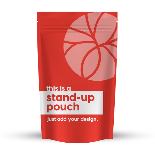 "Stand-Up Pouch 5.39"" x 7.01"" (100g)"