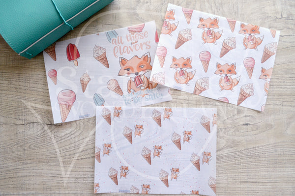 Salty Foxy, Foxy gets an ice cream vellum dashboards