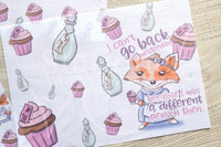 Foxy in Wonderland Alice vellum dashboards