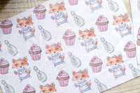 Foxy in Wonderland Alice TN vellum dashboards