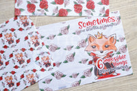 Foxy in Wonderland Queen of Hearts TN vellum