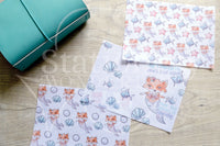 Foxy's under the sea Foxy the merfox vellum dashboards