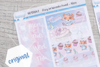 Foxy in Wonderland Alice weekly kit
