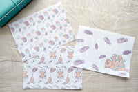 Foxy's crafting kitty TN vellum dashboards