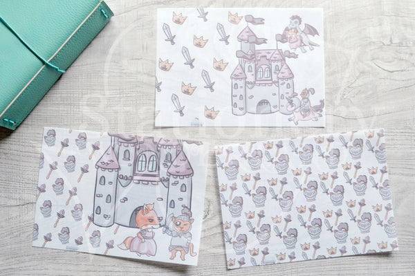 Happily Ever After Foxy vellum dashboards