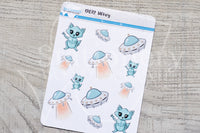UFoxy decorative planner stickers