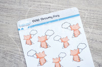 Dreamy Foxy decorative planner stickers