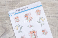 Fairy Foxy decorative planner stickers