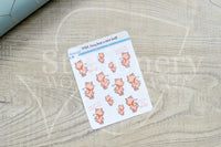 Foxy has a nice butt decorative planner stickers
