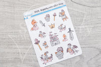 Happily Ever After Foxy decorative planner stickers