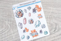Foxy is such a gem decorative planner stickers