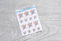 Pencil Foxy decorative planner stickers - Foxy's Sassy End of the Year