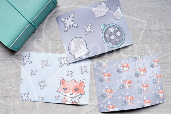 Foxy's winter treats vinyl dashboards