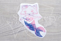Foxy the merfox vinyl decal