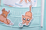 Foxy's kitty die cuts - Foxy's ginger cat embellishments