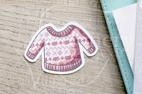 Foxy's ugly sweater die cuts - Foxy winter embellishments