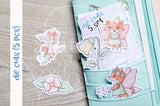 Fairy Foxy die cuts - Fairies Foxy embellishments