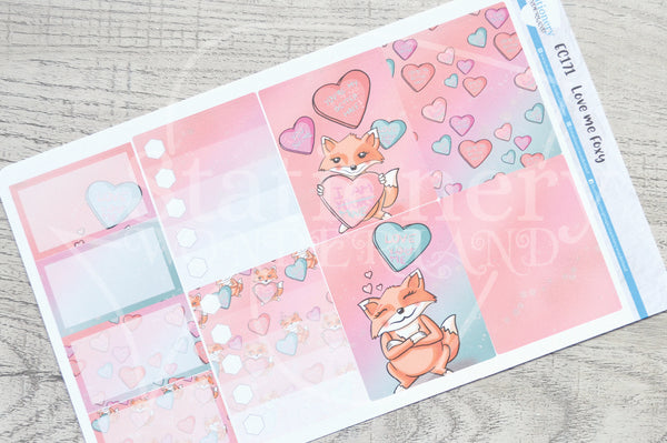 Love me Foxy weekly kit