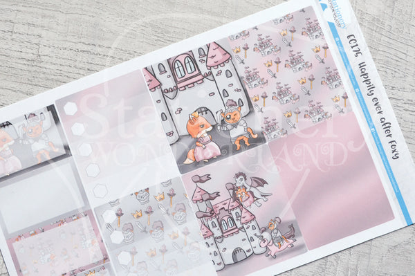 Happily Ever After Foxy weekly kit