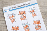 Foxy got stickers functional planner stickers