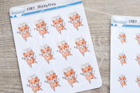 Dizzy Foxy functional planner stickers