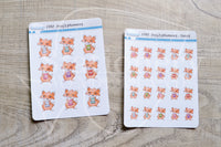Foxy's planners, planning functional planner stickers