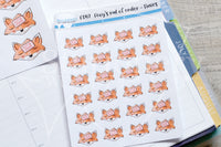 Foxy's out of order functional planner stickers