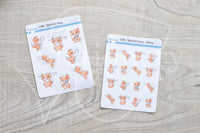 Spoonie Foxy functional planner stickers