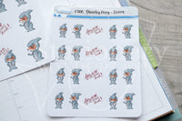 Sharky Foxy functional planner stickers