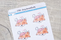 Foxy brainfarts functional planner stickers