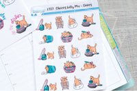 Foxy's kitty chores functional planner stickers