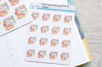 Foxy recharged Vit. D functional planner stickers