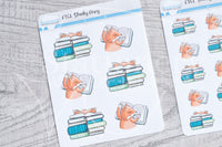 Study Foxy functional planner stickers